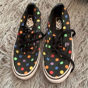 Vans polka dot sneakers
